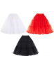 Retro Coloured Crinoline Petticoat - Sizes 6-26